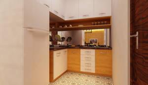 Rumah Tinggal Bpk Beni:  Dapur by samma design