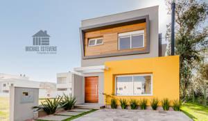 Projekty, nowoczesne Domy zaprojektowane przez ME Fotografia de Imóveis