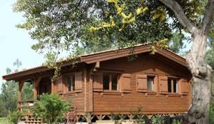 RUSTICASA | Pine Cottage | Zambujeira do Mar: Casas de madeira  por Rusticasa
