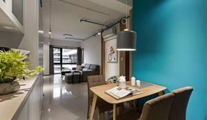modern Dining room by 築川室內裝修設計有限公司