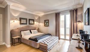VILLA (APRILIA - LT): Camera da letto in stile in stile Classico di Studio Guerra Sas