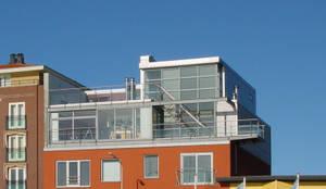 Penthouse Harbourview:  Meergezinswoning door Archipelontwerpers