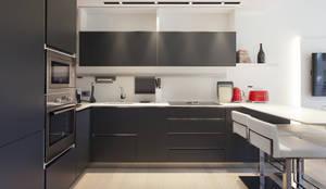 Appartamento: Cucina in stile in stile Moderno di Silvana Barbato, StudioAtelier