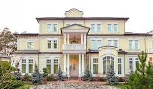 Projekty, klasyczne Domy zaprojektowane przez 1Smart-Home