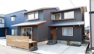 女池の家: 株式会社山口工務店が手掛けた木造住宅です。