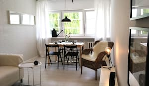 غرفة المعيشة تنفيذ Pasja Do Wnętrz