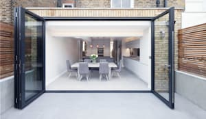 Rear & side wrap-around extension: modern Dining room by Proctor & Co. Architecture Ltd