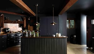 The Petersham Kitchen by deVOL: industrial Kitchen by deVOL Kitchens