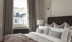 Kensington Town House: modern Bedroom by London Home Staging Ltd