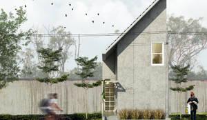 Projekty,  Dom jednorodzinny zaprojektowane przez SODA Indonesia