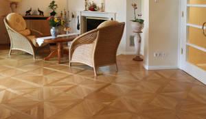 Tafelparkett: klassische Wohnzimmer von Wolf Parkett