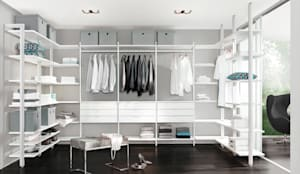 CLOS-IT - Dressing Room Shelving System:  Dressing room by Regalraum UK