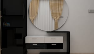 DLF Woodland Heights, 3 BHK - Mrs. Darakshan:  Dressing room by DECOR DREAMS,Modern