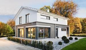 Projekty,  dom prefabrykowany zaprojektowane przez ADAY GRUP Hafif Çelik Yapılar A.Ş. / LGS CONSTRUCTION