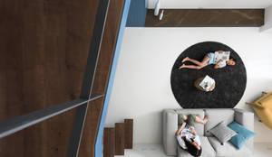 爵士藍調:  客廳 by 寓子設計
