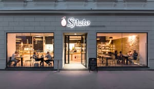 RESTAURANT ´O SFIZIO:  Gastronomie von AL ARCHITEKT - Architekten in Wien
