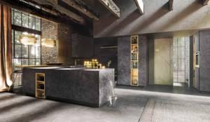 Kitchens : modern Kitchen by Halcyon Interiors