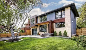 Elderfield Cres:  Houses by Contempo Studio,Modern