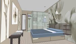 Progetti Camera Da Letto Con Cabina Armadio : Camera da letto con cabina armadio di interno homify