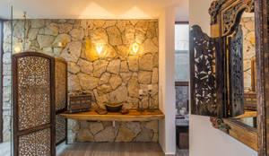 Baño: Baños de estilo  por Cetina y Ancona Arquitectos