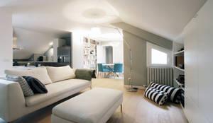 Salas de estar modernas por Barbara Patrizio DesignLab