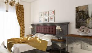 Öykü İç Mimarlık – Özel projelendirme: modern tarz Yatak Odası