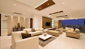 Living Room: modern Living room by The Workroom