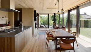 052いすみ市岬町Oさんの家: atelier137 ARCHITECTURAL DESIGN OFFICEが手掛けたダイニングです。