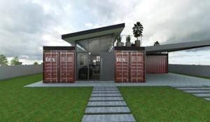 modern Houses by Petillo Arquitetura