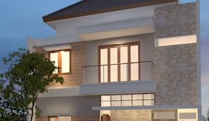 Rumah Minimalis :  Rumah tinggal  by Arsitekpedia