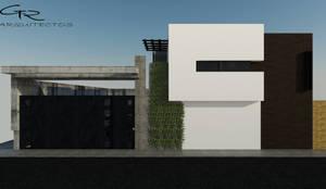 HOUSE SA-D TULA: Casas de estilo  por GT-R Arquitectos