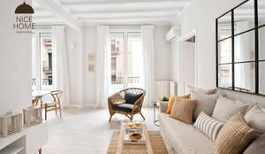 mediterrane Wohnzimmer von Nice home barcelona