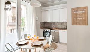 mediterranean Kitchen by Nice home barcelona