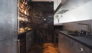 Projekty,  Kuchnia zaprojektowane przez Archventil - Architecture and Design Studio