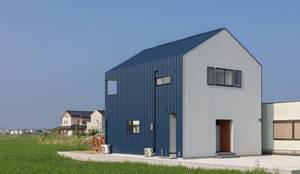 KAKUREYA: 田村の小さな設計事務所が手掛けた一戸建て住宅です。