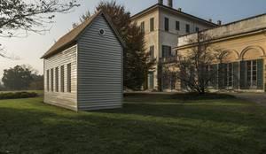 Ampliamento in legno a vergiate varese von novello case in legno