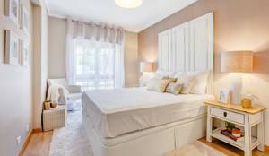 Dormitorios de estilo rústico de Santiago | Interior Design Studio