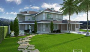 حديقة تنفيذ Caio Pelisson - Arquitetura e Design
