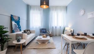 غرفة المعيشة تنفيذ The Comfort Zone di Michela Severgnini
