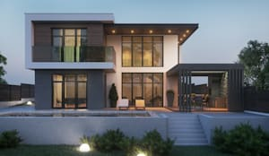 บ้านและที่อยู่อาศัย by Tobi Architects