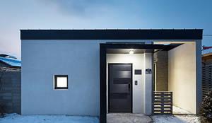 단감 건축사사무소が手掛けた廊下 & 玄関