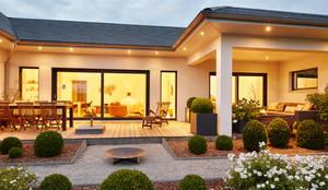 LUXHAUS Kundenhaus 01:  Terrasse von Lopez-Fotodesign