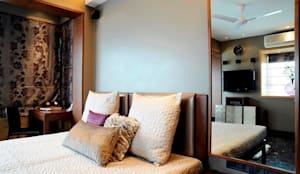 Mumbai Residence,: modern Bedroom by DesignTechSolutions