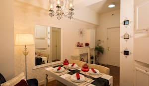 Malayan Plaza: classic Dining room by TG Designing Corner