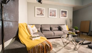 The Grove by Rockwell: modern Living room by TG Designing Corner