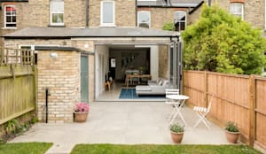 High Barnet Terrace House Transformation: modern Houses by Model Projects Ltd