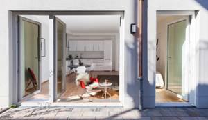 Apartment in Mannheim: moderne Häuser von Massimo Del Prete Fotografie
