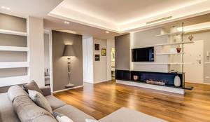 moderne Wohnzimmer von MOB ARCHITECTS