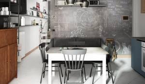 Cuisine intégrée de style  par Studio Gentile