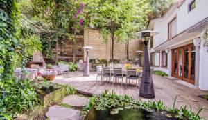 Jardines de estilo moderno por HDA: ARQUITECTURA BIOCLIMATICA